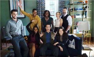 Le cast de «Murder» tout sourire (avant d'apprendre que M6 déprogrammait la saison 2).