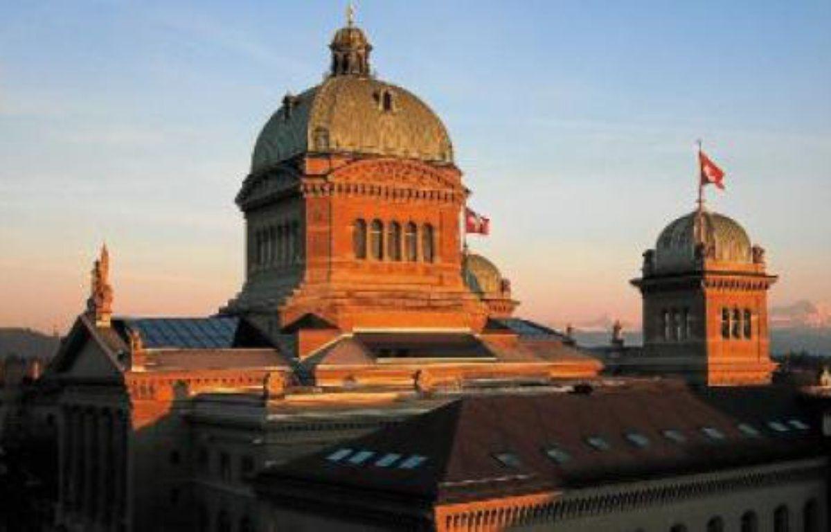 Le palais fédéral, construit au XIXe siècle. Le centre-ville, lui, a gardé des airs médiévaux. –  SUPERSTOCK / SIPAM. BUHOLZER / REUTERS