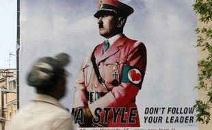 Publicité mettant en scène Hitler, Palerme, 24 mai 2010
