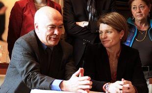 Le député des Côtes d'Armor Marc Le Fur et la députée d'Ille-et-Vilaine Isabelle Le Callennec.
