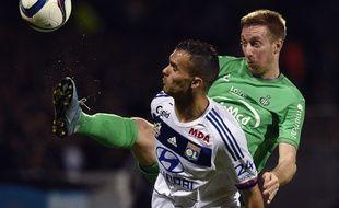 Le précédent match officiel de Robert Beric datait du 8 novembre dernier lors du derby face à l'OL de Jérémy Morel.
