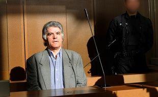 Le tueur en série Pierre Bodein devant la cour d'assises de Colmar, le 9 septembre 2008.