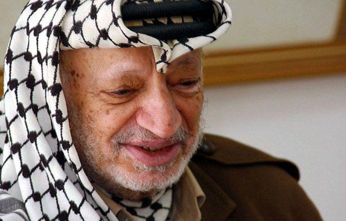 Yasser Arafat le 27 septembre 2004 à Ramallah. – HUSSEIN HUSSEIN/SIPA