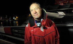 Francis Joyon et son équipage ont bouclé le tour du monde en 40 jours.