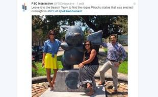 Une statue de Pikachu est apparue à la Nouvelle-Orléans