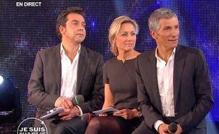 Patrick Cohen, Anne-Sophie Lapix et Nagui présentent la soirée spéciale Je suis Charlie sur France 2