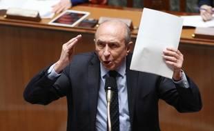 Gérard Collomb lors des questions au gouvernement à l'Assemblée nationale.