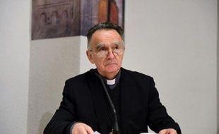 Georges Pontier le 4 novembre 2014 à Lourdes
