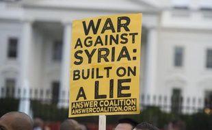 """La Maison Blanche a rendu public vendredi un rapport du renseignement américain concluant avec une """"forte certitude"""" que le régime syrien de Bachar al-Assad était responsable de l'attaque aux armes chimiques du mercredi 21 août, dans une banlieue de Damas."""