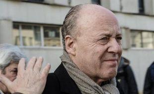René Kojfer quitte le palais de justice de Lille, le 3 février 2015