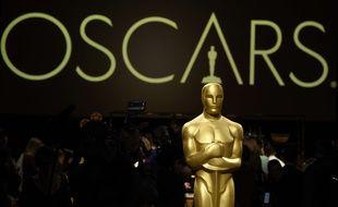 Une statue des Oscars (illustration).