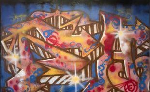 Une oeuvre de Delta 2 exposée au château de Forbin à Marseille.
