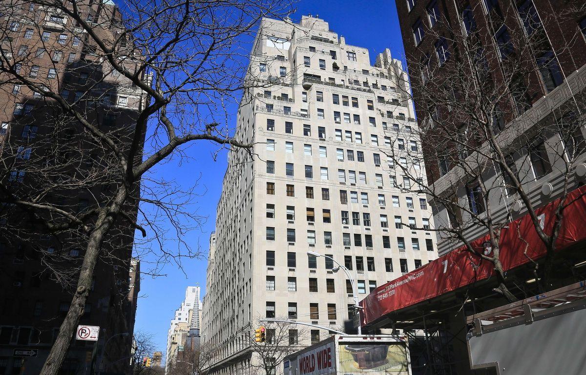 L'appartement de l'ambassadeur français à l'ONU vendu par la France, le 10 avril 2014. – Bebeto Matthews/AP/SIPA