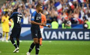 Kylian Mbappé a inscrit son 9e but en équipe de France contre les Pays-Bas.