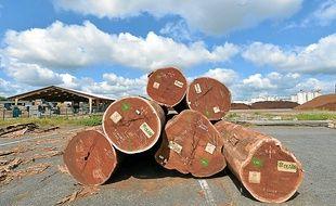 Le savoir-faire nantais s'est développé avec l'arrivée de troncs, par le port