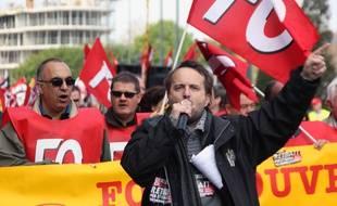 Manifestation du 1er mai à Rennes.