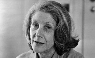Photo datant de 1980 de l'écrivain sud africaine Nadine Gordimer décédée en juillet 2014.