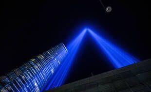 Commémoration du 11-Septembre à New York le 11 septembre 2021.