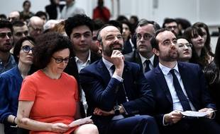 Wargon, Philippe et Lecornu.