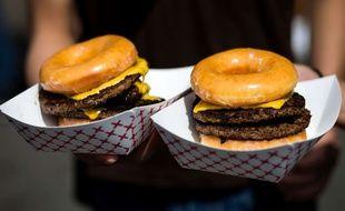 Illustration: Des burgers bien gras.