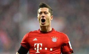Robert Lewandowski a inscrit un quintuplé en 9 minutes lors de Bayern-Wolfsburg, le 22 septembre 2015.