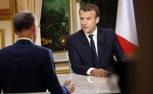 Emmanuel Macron s'est livré ce dimanche à sa première interview télévisée en France depuis son élection.