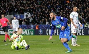 Les Bastiais ont frôlé l'exploit, ce mardi 5 février 2019, face à Caen.