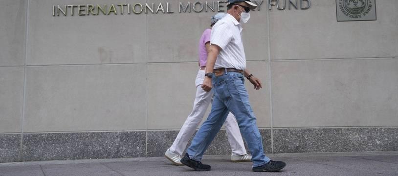 Le siège du FMI à Washington, le 17 juillet 2020.