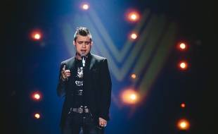 Omar Naber, candidat de la Slovénie à l'Eurovision 2017.
