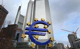 Le siège de la BCE à Francfort