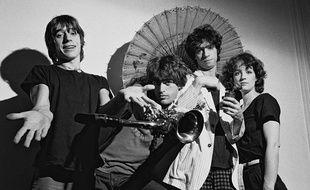 Le groupe français Téléphone en 1979.