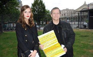 Francis Huster et Gaia Weiss en 2011, année de leur rencontre selon le comédien.