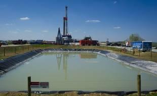 Une foreuse de gaz de schiste de Consol Energy près de Waynesburg, en Pennsylvanie le 13 avril 2012