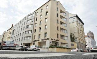 Le drame s'est déroulé dans cette résidence étudiante du 3e arrondissement.