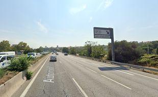 Cet fusillade s'est déroulée sur l'autoroute A7. La voiture des victimes a fini un talus, peu après la sortie des Aygalades.