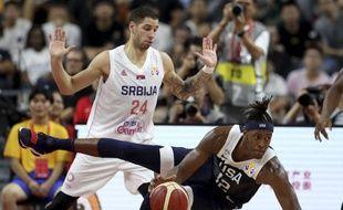 Team USA a été battue par la Serbie en match de classement de la Coupe du monde de basket, le 12 septembre 2019.
