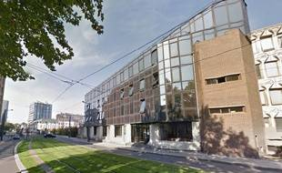 Le tribunal de grande instance de Valenciennes.