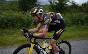 Tony Martin s'est relevé malgré une lourde chute.