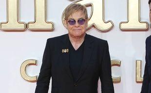 Le chanteur et musicien Elton John