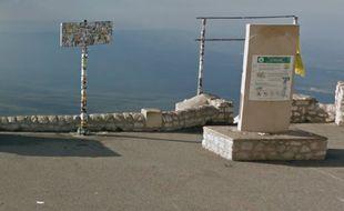 Le panneau du Mont Ventoux a été volé