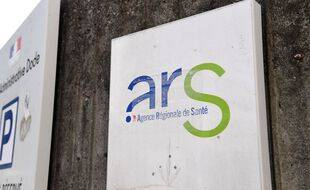 Le logo d'une Agence régionale de santé. (illustration)