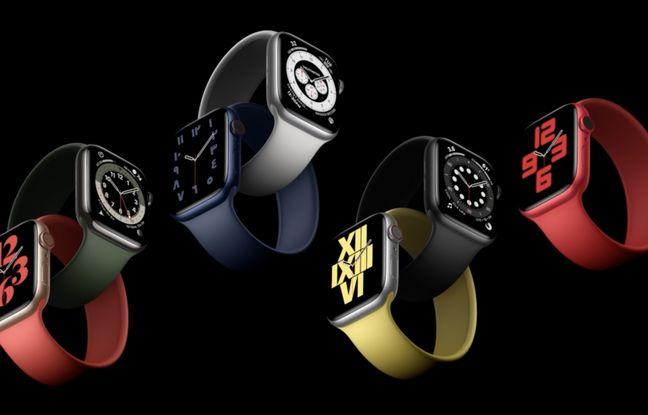 De nouveaux bracelets accompagnent la sortie de l'Apple Watch Serie 6.