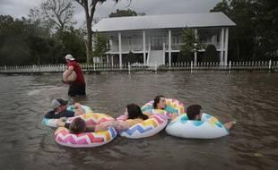 La tempête Barry n'est finalement pas restée longtemps un ouragan. Ce qui n'empêche pas les dégâts.
