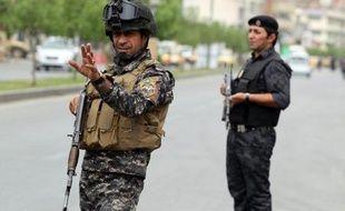 Des policiers à Bagdad, le 20 mai 2013