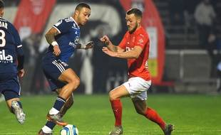 Memphis Depay a inscrit un doublé ce vendredi qui a facilité la soirée de Lyonnais en double avantage numérique.