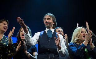 Cedric Villani en meeting au Trianon à Paris le 11 décembre 2019.