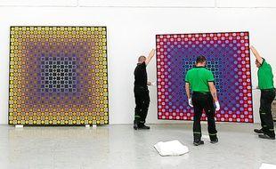 Des travaux de jeunesse aux tableaux aboutis : 90 œuvres sont exposées.