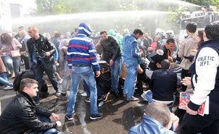 Bruxelles: Le rassemblement antisémite dispersé par la police