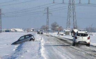 Certaines lignes électriques n'ont pas tenu face aux fortes chutes de neige en Alsace.