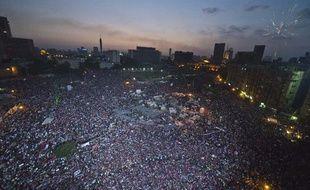 Manifestation au Caire, en Egypte, le 2 juillet 2013.